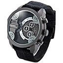 ieftine Ceas Militar-Bărbați Ceas de Mână Chineză Calendar / Rezistent la Apă / Creative Material / Nailon Bandă Charm / Vintage / Casual Negru / Verde