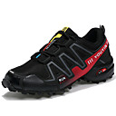 cheap Men's Athletic Shoes-Men's Tulle / PU(Polyurethane) Spring / Fall Comfort Athletic Shoes Running Shoes Dark Blue / Gray / Black / Red