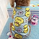 baratos Brincos-Gato Cachorro Camiseta Colete Roupas para Cães Animal Azul Rosa claro Algodão Ocasiões Especiais Para animais de estimação Homens Mulheres