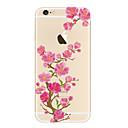 رخيصةأون حافظات الجوال & واقيات الشاشات-EFORCASE غطاء من أجل أيفون 5 / Apple شفاف / نموذج غطاء خلفي زهور ناعم TPU إلى iPhone SE / 5s / iPhone 5