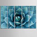 abordables Calcomanías de Uñas-Impresiones de Arte Cinco Paneles Vertical Estampado Decoración de pared Decoración hogareña