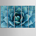 cheap Rolled Canvas Prints-Art Print Five Panels Vertical Print Wall Decor Home Decoration