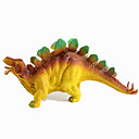 baratos Figuras de dinossauro-Dragões & Dinossauros Figura do dinossauro Triceratops Dinossauro jurássico estegossauro Plástico Crianças Para Meninos Para Meninas Brinquedos Dom