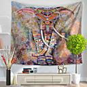 baratos Tapeçarias de parede-Animal Decoração de Parede 100% Poliéster Modern Arte de Parede, Tapetes de parede Decoração