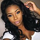 preiswerte Aufkleber für Nägel-Echthaar Vollspitze Perücke Locken 130% Dichte 100 % von Hand geknüpft Afro-amerikanische Perücke Natürlicher Haaransatz Kurz Medium Lang
