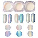 baratos Adesivos de Unhas-1pç / 1box Purpurina arte de unha Manicure e pedicure Clássico Diário