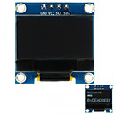 cheap Necklaces-0.96 128x64 I2C Interface White Color OLED Display Module for Arduino