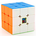 cheap Rubik's Cubes-Rubik's Cube MoYu 3*3*3 Smooth Speed Cube Magic Cube Educational Toy Stress Reliever Puzzle Cube Smooth Sticker Gift Unisex