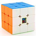 baratos Cubos de Rubik-Rubik's Cube MoYu 3*3*3 Cubo Macio de Velocidade Cubos mágicos Antiestresse Brinquedo Educativo Cubo Mágico Adesivo Liso Crianças Adulto Brinquedos Unisexo Para Meninos Para Meninas Dom