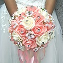 """cheap Party Headpieces-Wedding Flowers Bouquets Wedding Polyester 7.87""""(Approx.20cm)"""