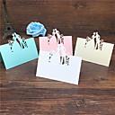 baratos Cartões e Suportes Marcadores de Lugar-Papel de Cartão Cartões de Número para Mesa Estilo em Pé 40