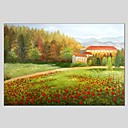 cheap RC Cars-Oil Painting Hand Painted - Landscape Abstract Canvas