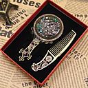 ieftine Ustenside de copt-Farmec oglindă pandantiv antic bronz potrivi bratari colier diy metal bijuterii de luare (stil aleatoriu)