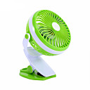 baratos Ventilador-360 graus de mini usb cargando fã ventilador dormitório pequeno