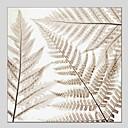 baratos Pinturas Florais/Botânicas-Pintura a Óleo Pintados à mão - Floral / Botânico Clássico Modern Tela de pintura