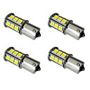 cheap Car Tail Lights-4pcs 1156 / 1157 Car Light Bulbs 2.5W SMD 5050 200lm LED Exterior Lights