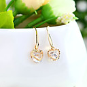 baratos Braceletes-Mulheres - Cristal Personalizada, Fashion, Euramerican Dourado / Prata Para Casamento / Festa / Aniversário