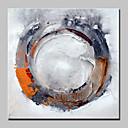 ieftine Includeți cadru interior-Hang-pictate pictură în ulei Pictat manual - Abstract Abstract / Modern / Contemporan Includeți cadru interior