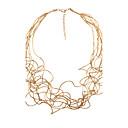 preiswerte Modische Halsketten-Damen Stränge Halskette - Personalisiert, Böhmische, Modisch Gold, Weiß, Silber Modische Halsketten Für Weihnachts Geschenke, Hochzeit, Party
