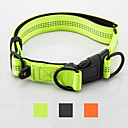 cheap Cat Toys-Dog Collar Reflective Portable Foldable Safety Adjustable Solid Nylon Black Orange Green