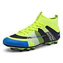 זול נעלי ספורט לגברים-יוניסקס אור סוליות דמוי עור / PU סתיו / חורף נעלי אתלטיקה כדורגל כחול / שחור / ירוק / כתום ושחור