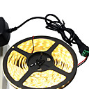 abordables Tiras de Luces LED-5 m Tiras LED Flexibles 300 LED 5630 SMD Blanco Cálido / Blanco Cortable / Auto-Adhesivas 12 V 1pc
