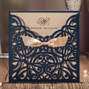 cheap Men's Accessories-Wrap & Pocket Wedding Invitations 20 - Invitation Cards Classic Style Embossed Paper