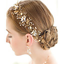 cheap Party Headpieces-Pearl / Crystal / Alloy Tiaras / Headbands / Head Chain with 1 Wedding / Special Occasion Headpiece