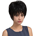 cheap Synthetic Capless Wigs-Human Hair Capless Wigs Human Hair Straight Classic High Quality Machine Made Wig Daily