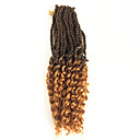 cheap Synthetic Capless Wigs-Braiding Hair Curly Pre-loop Crochet Braids / Hair Accessory / Human Hair Extensions 100% kanekalon hair 30 roots / pack Hair Braids Daily