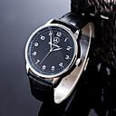 abordables Relojes de Hombre-Hombre Reloj Deportivo / Reloj de Pulsera Chino Resistente al Agua / Creativo Piel Banda Encanto / Casual / Moda Negro / Marrón / Acero Inoxidable