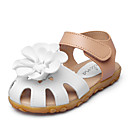 cheap Baby Shoes-Girls' Shoes Leatherette Summer Comfort / Flower Girl Shoes Sandals Appliques / Magic Tape for Purple / Fuchsia / Pink
