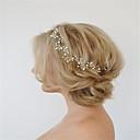 preiswerte Synthetische Perücken-Europa und die Vereinigten Staaten Außenhandel Schmuck Mode Han-Ausgabe Haar von Hand leafy süße Perle Haar Haarnadel a0113