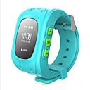 baratos Colares-Relógio de Moda / Relógio inteligente / Relógio de Pulso Relógio Casual Borracha Banda Amuleto Azul / Verde / Rose