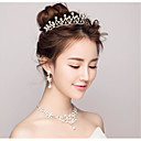 cheap Party Headpieces-Pearl / Rhinestone / Alloy Tiaras with 1 Wedding / Special Occasion / Birthday Headpiece