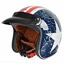 baratos Capacetes e Máscaras-Meio Capacete Adulto Unisexo Capacete de Motociclista Esportivo / Forma Assenta / Compacto