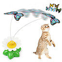 cheap Nail Jewelry-Cat Teasers Butterfly Plastic For Cat Kitten