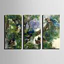 cheap Prints-Canvas Print Three Panels Canvas Vertical Print Wall Decor Home Decoration