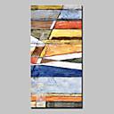 זול ציורי שמן-מצויר ביד מופשט אנכי, מופשט (אבסטרקטי) מודרני בַּד ציור שמן צבוע-Hang קישוט הבית פנל אחד