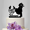 cheap Models & Model Kits-Cake Topper Classic Theme / Romance / Wedding Classic Couple Plastic Wedding / Anniversary with 1 pcs Poly Bag
