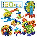 cheap Interlocking Blocks-Building Blocks / Educational Toy 120pcs Eagle DIY Unisex Gift