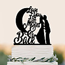 cheap Ring Pillows-Cake Topper Birthday Wedding High Quality Plastic Wedding Birthday with 1 PVC Bag