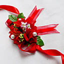 """povoljno Cvijeće za vjenčanje-Cvijeće za vjenčanje Wrist Corsage Vjenčanje Šifon Svila Pamuk Saten 1.97 """"(Approx.5cm)"""