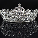 cheap Party Headpieces-Rhinestone / Alloy Tiaras with 1 Wedding / Special Occasion / Party / Evening Headpiece