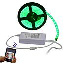 baratos Faixas de Luzes LED-5m Faixas de Luzes RGB 300 LEDs 5050 SMD Controlo Remoto / Cortável / Regulável 100-240 V / IP65 / Impermeável