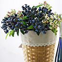 cheap Artificial Flower-Artificial Flowers 1 Branch Pastoral Style Plants Tabletop Flower