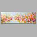 baratos Pinturas Florais/Botânicas-Pintura a Óleo Pintados à mão - Floral / Botânico Artistíco Tela de pintura