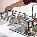 baratos Prateleiras e Suportes-1pç Outros Acessórios Plástico Fácil Uso Organização de cozinha