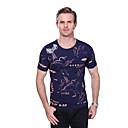 preiswerte Herren Freizeitschuhe-Herrn Tier Übergrössen Baumwolle T-shirt, Rundhalsausschnitt