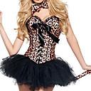 ieftine Costume de Halloween-Ringmaster Costume Cosplay / Costume petrecere Pentru femei Crăciun / Halloween / Carnaval Festival / Sărbătoare Costume de Halloween Maro Leopard